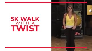 Download 5K with a Twist! 3 1 Mile Walk at Home!