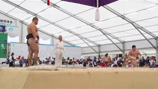 2012(H24) 国体 相撲 少年 個人決勝戦 トゥルボルド(鳥取県)-打越奎也(青森県)