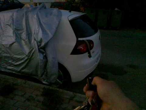 Hatch pop tailgate Golf V