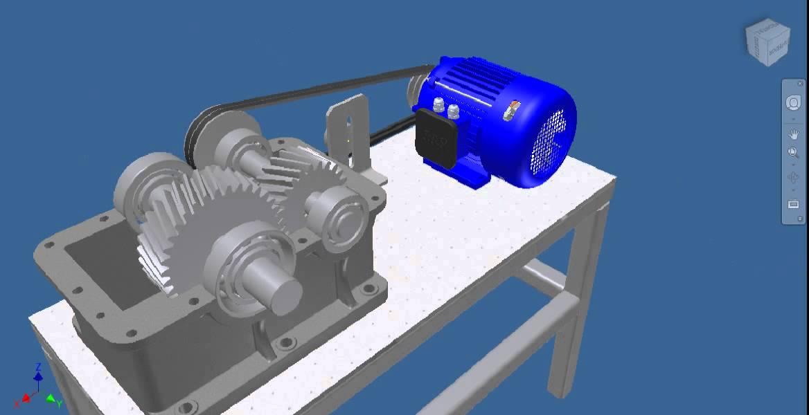 Transmiss 195 O Motor El 201 Trico Correia Redutor