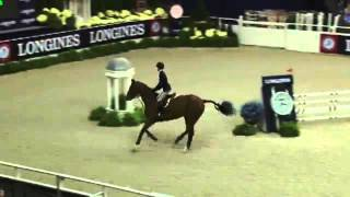 Video of LALONDE ridden by RANSOME ROMBAUER from ShowNet!