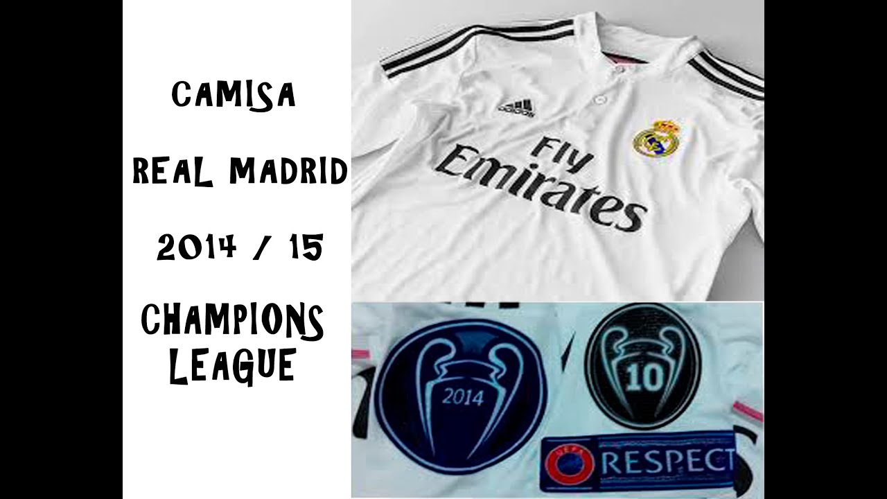 24 Unboxing Aliexpress - CAMISA REAL MADRID 2014   2015 - YouTube 0f133b440f6a7