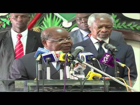 Annan, Mkapa Dismiss Interference Claims
