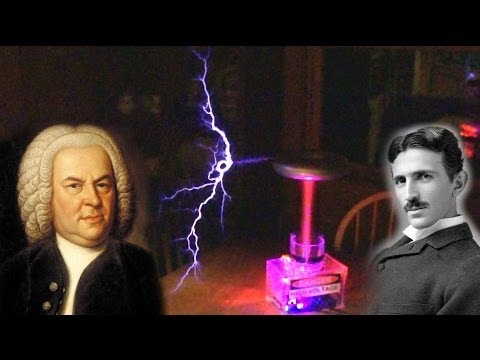 From Bach to Tesla - DIY oneTesla Musical Tesla Coil Build & Review