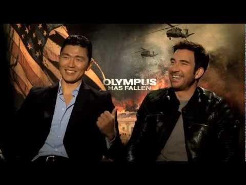 "My Fun Interview with Rick Yune & Dylan McDermott for ""Olympus Has Fallen"""