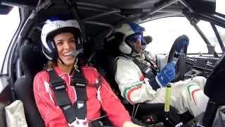 Pallavolo meets Rally... Con Paolo Andreucci e Peugeot 208T16