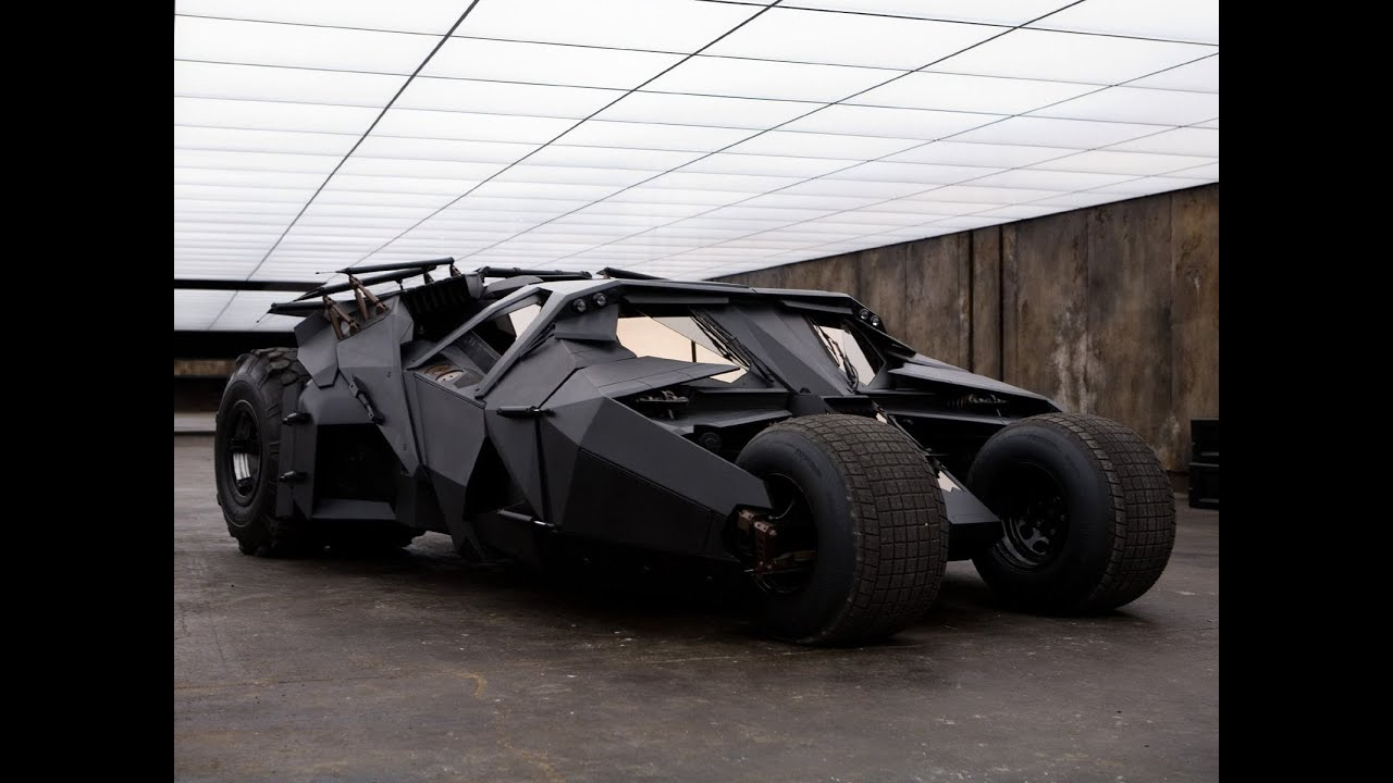 Building Batman\'s car: the making of the dark knight\'s tumbler - YouTube