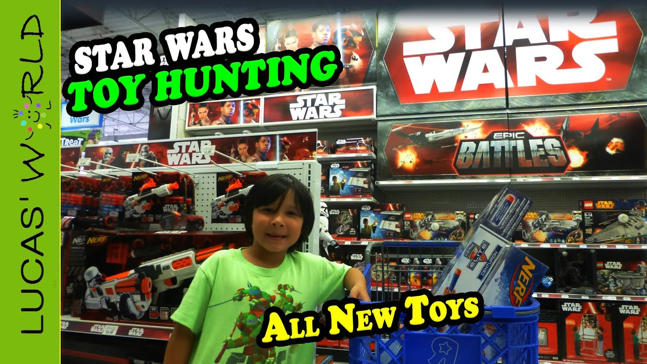 Toys For All : Toy hunting for all new star wars toys lego and nerf