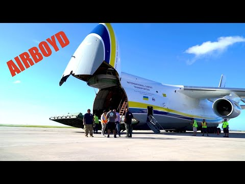 Antonov An-124 Ruslan In Saipan - Super Typhoon Yutu Relief