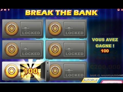 Jeux à gratter: Péter La Banque, ou Break The Bank 💰💰💰Gros gain pour qui du coup?