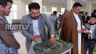 Afghanistan: Polling extended after delays and violence