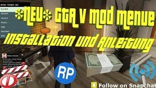 GTA 5 | ONLINE UND OFFLINE | *NEU* MOD MENUE TUTORIAL | INSTALLATION + ANLEITUNG [Deutsch] [HD]