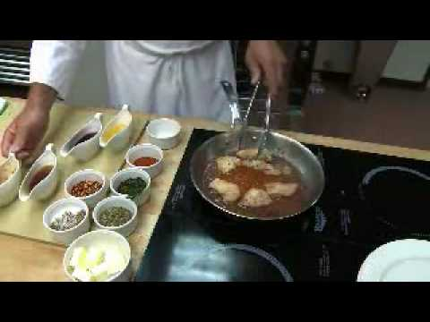 How to cook Chicken Fra Diavolo-- Look What's Cookin'- Culinary Institute of Virginia