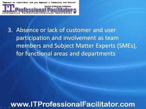 ERP Failure - Top 10 Enterprise Resource Planning Failure Challenges