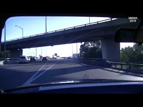 Random Video - W126 280SE Driving in Perth West Australia