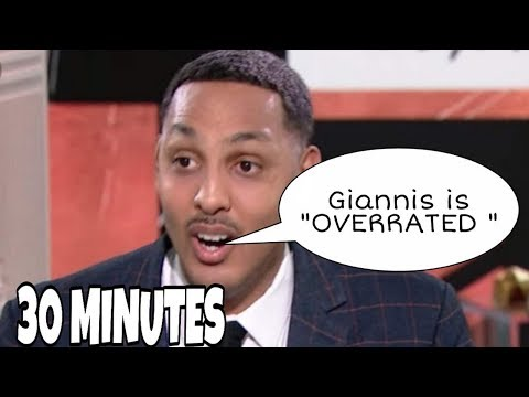 Ryan Hollins being Delusional for 30 minutes straight (ESPN Worst Take)