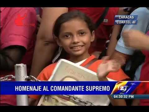 Cuartel de la Montaña: 2 años de Siembra de Hugo Chávez, actos conmemorativos (COMPLETO)