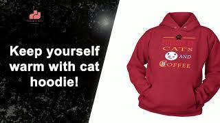 Cat Hoodie - Fuelled by Cats hoodie