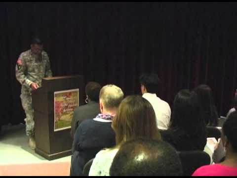Asian-Pacific Heritage Month Ceremony with Lt. Gen. Bostick