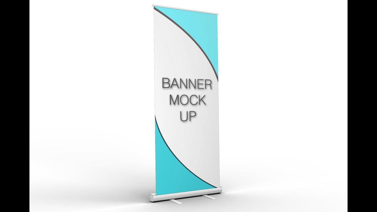 Banner Mock up - YouTube