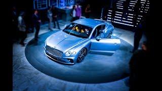 new Bentley Continental GT 2018/Закрытая презентация в России