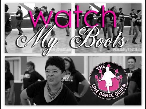 Watch My Bootz-Easy Zydeco Line Dance