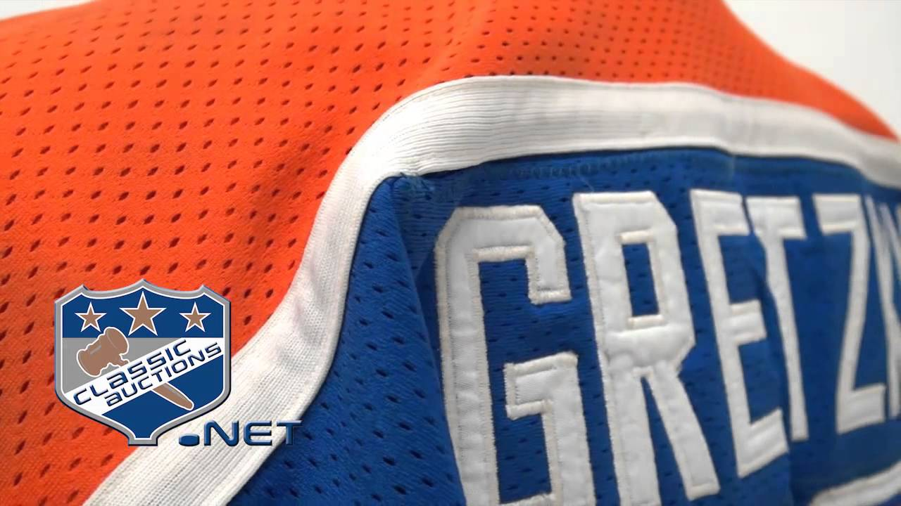 official photos 7fd95 63424 Wayne Gretzky's 1981-82 Edmonton Oilers