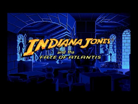 Amiga 500 Longplay [052] Indiana Jones and the Fate of Atlantis