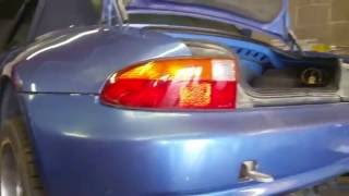 BMW Z3 differential support problem! fix and diy! hd