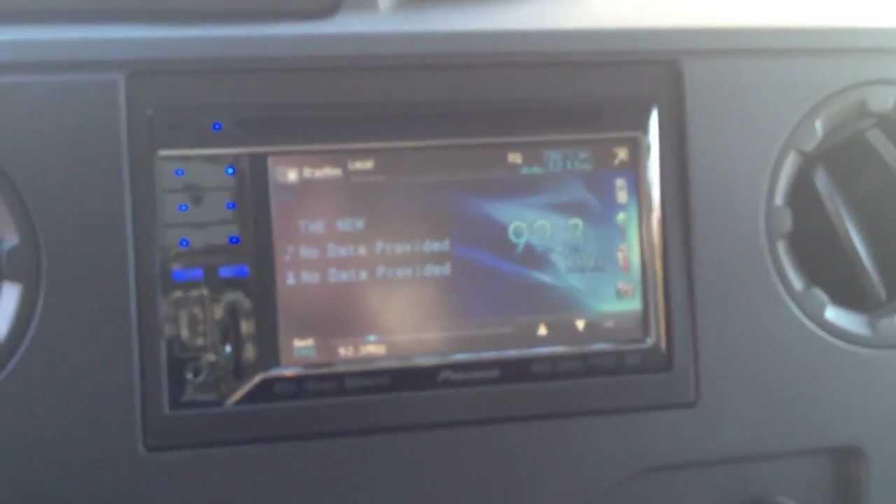 Car Radio Lights Out