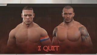 WWE 2K17 PS3 - John Cena Vs Randy Orton - I Quit Match