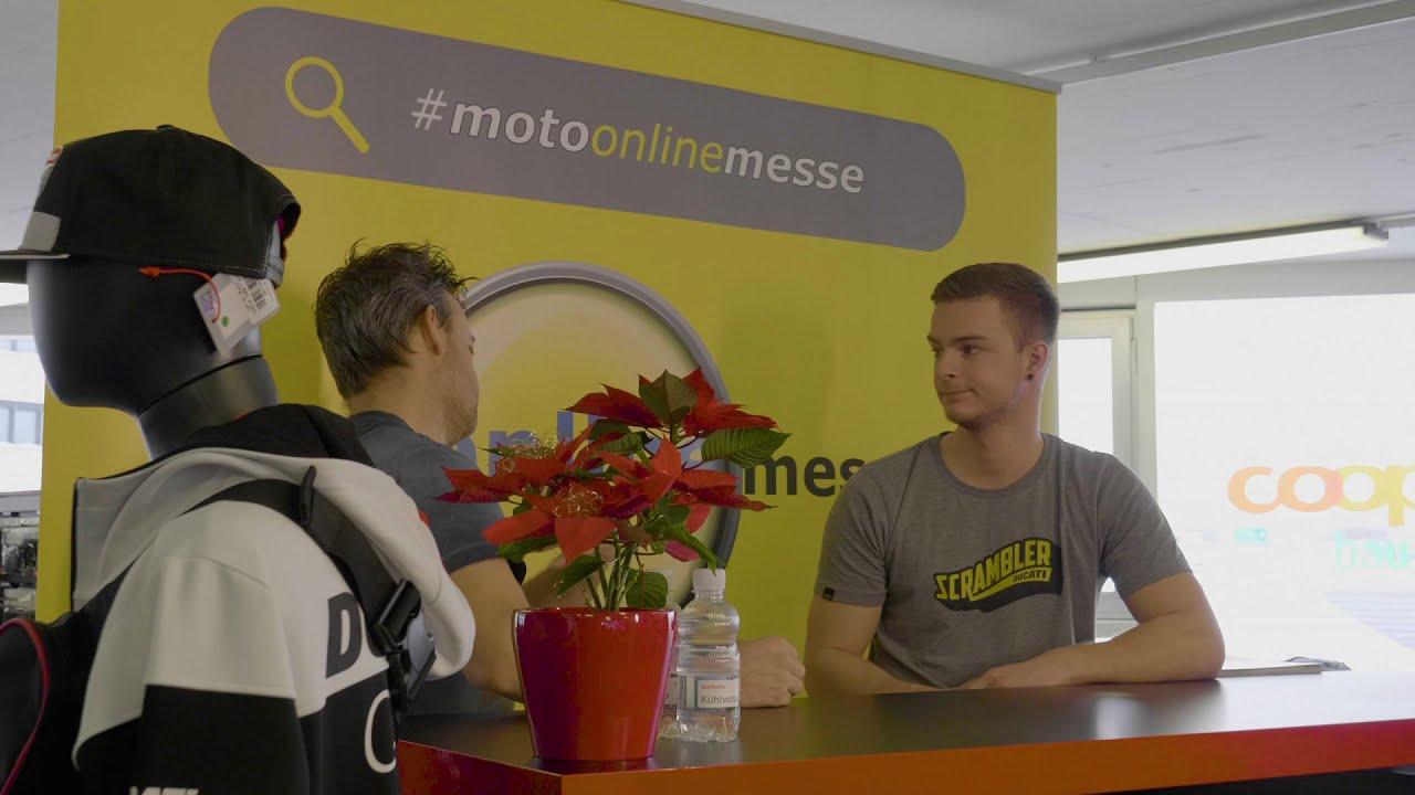 Als Aussteller jetzt anmelden und dabei sein, wenn die 1. Schweizer Moto Online Messe startet.