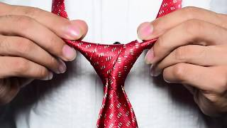 How to tie a tie Step by Step For Beginners !!  Full Windsor Knot (Quick and Easy) Men