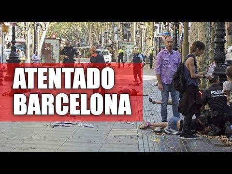 ATENTADO TERRORISTA EM BARCELONA - Últimas Notícias na DESCRIÇÃO DO VÍDEO  | Canal Simbora