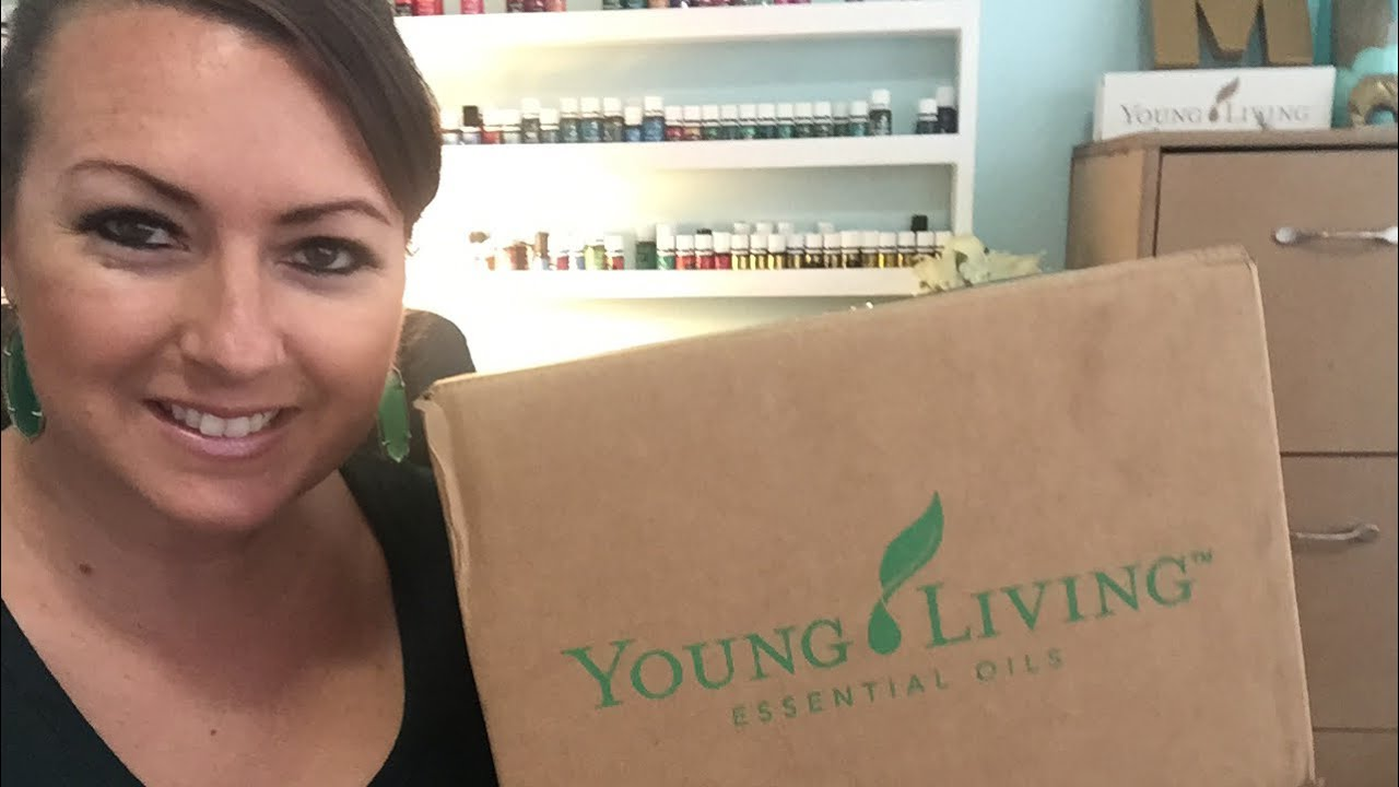 September Young Living ER Unboxing 2017 - YouTube
