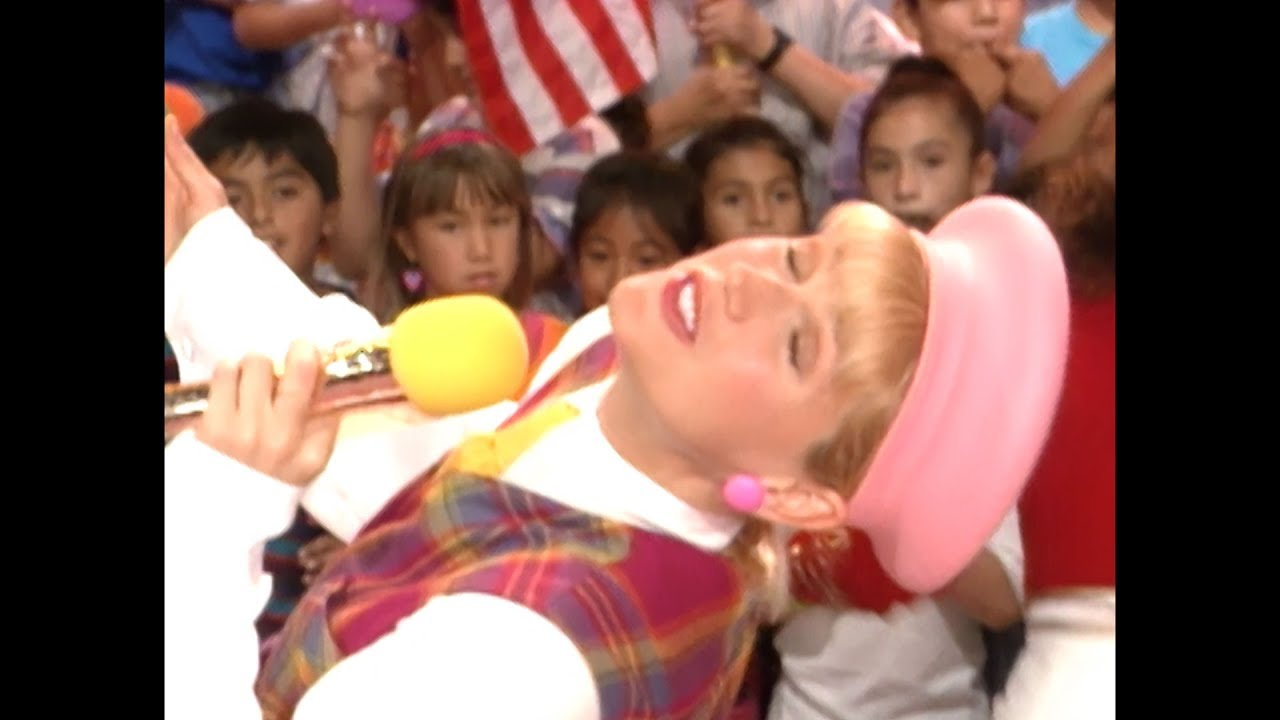 Xuxa USA TV Show #1919 from 1993 - YouTube