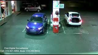 Business Security Systems Los Angeles  | Armed Robbery Caught CCTV Security Camera Los Angeles