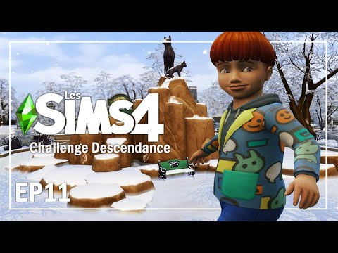 CHRIS 🎂 EP11 | CHALLENGE DESCENDANCE | Sims 4  Let's play fr
