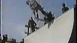 Skateboarding Skating Bondi Beach Vert Ramp 1991 Australia.wmv