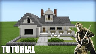 "Minecraft: How To Make Leather Face House ""The Texas Chainsaw Massacre"""
