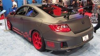 Honda News #5 - 2013 HONDA ACCORD RACE - 2013 SEMA REVIEW - FREE HONDA GEAR CONTEST