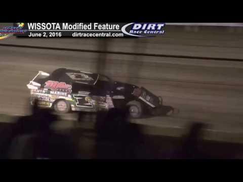 KRA Speedway 6 2 16 WISSOTA Modified Races