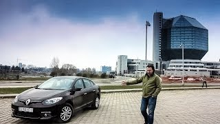 Тестдрайв: Renault Fluence 1.6MT, Expression (2014my)