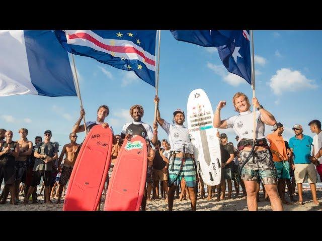 MEN'S SINGLES FINALS | strapless freestyle kitesurfing action | GKA KITE-SURF WORLD CUP PREA