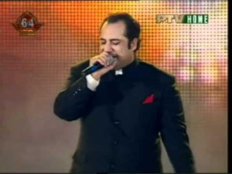 Rahat Sings Live Tere Mast Mast Do Nain Youtube