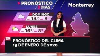 Te dejamos todos los detalles del clima en la República Mexicana. C...
