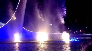 Шоу фонтанов. Олимпийский парк Сочи. Номер 4 от программы на 20:30 04.08.19