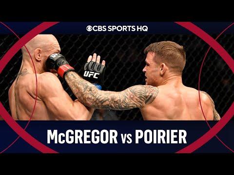 Conor McGregor vs Dustin Poirier: Poirier stuns McGregor for 2nd round TKO  UFC 257  CBS Sports HQ