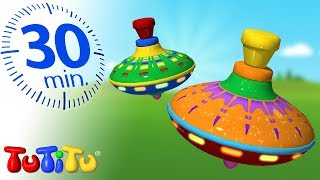 Игрушки для малышей | Юла | 30 минут ТуТиТу Игрушки