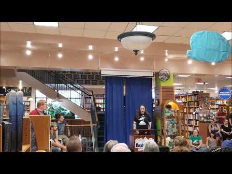 Jim Butcher Brief Cases Tour Q&A 06/06/18 @ Book People, Austin, Tx